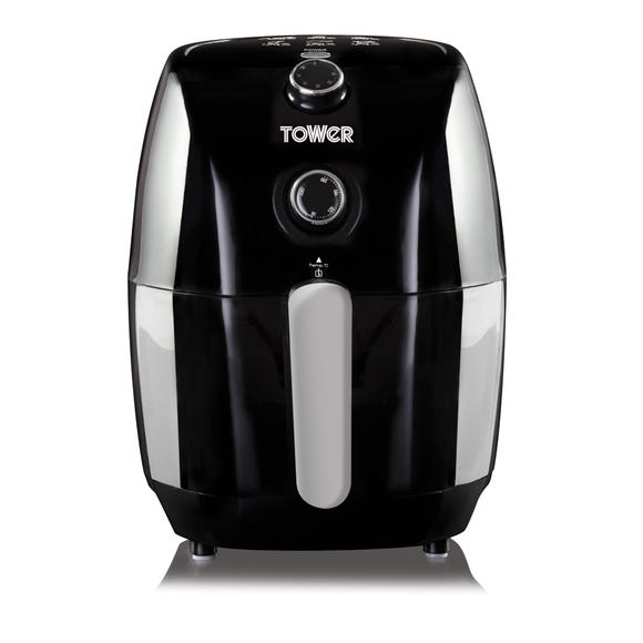 Tower 1.5L Manual Air Fryer Black