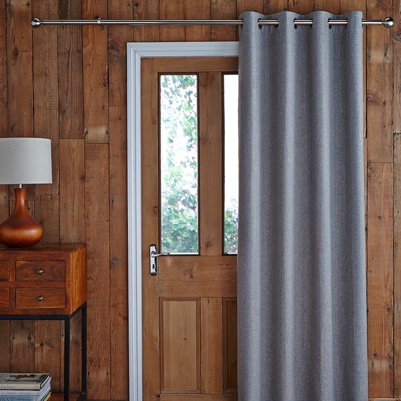 Jennings Charcoal Thermal Door Curtain  undefined
