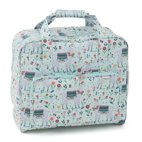 Llama PVC Sewing Machine Bag