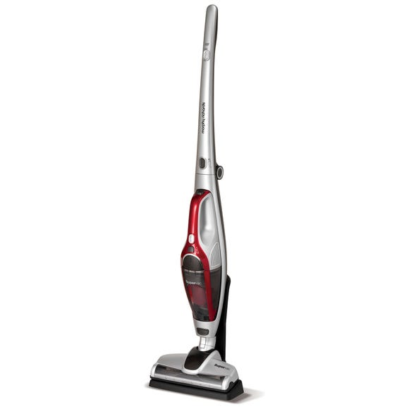 Morphy Richards Supervac 2 in 1 Cordless Vacuum Cleaner Silver