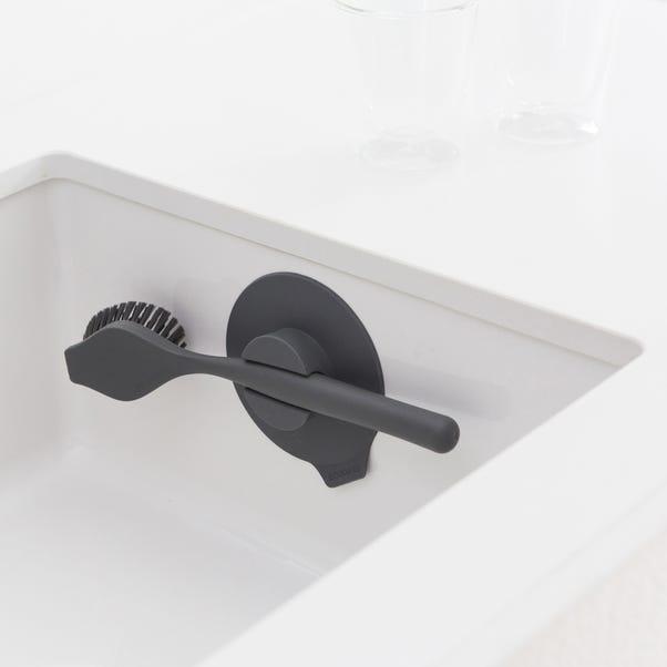 Brabantia Sinkside Dark Grey Dish Brush with Suction Cup Holder Dark Grey
