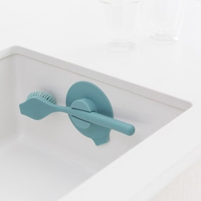Brabantia Sinkside Mint Dish Brush with Suction Cup Holder