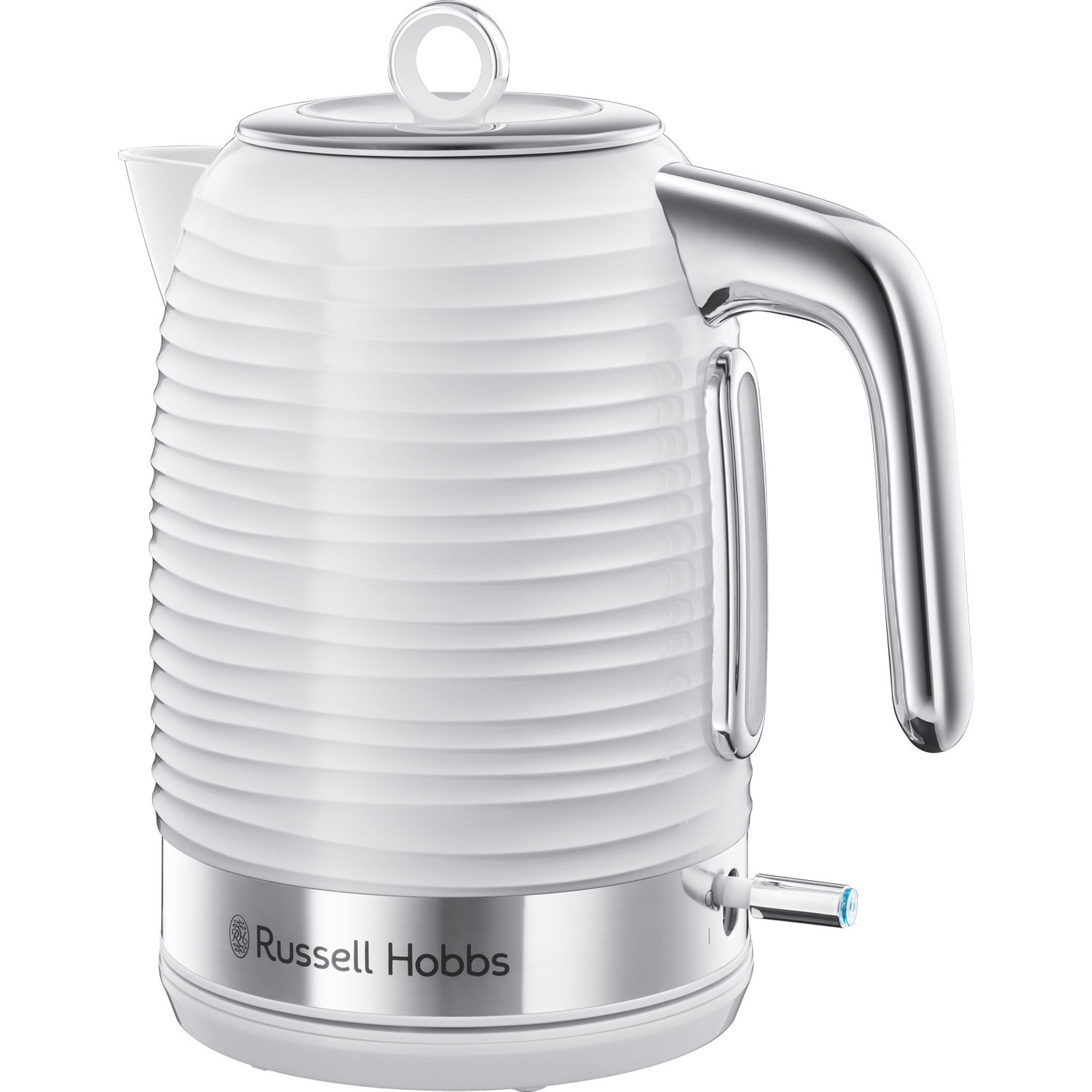 Click to view product details and reviews for Russell Hobbs Inspire 17l 3kw White Kettle White.