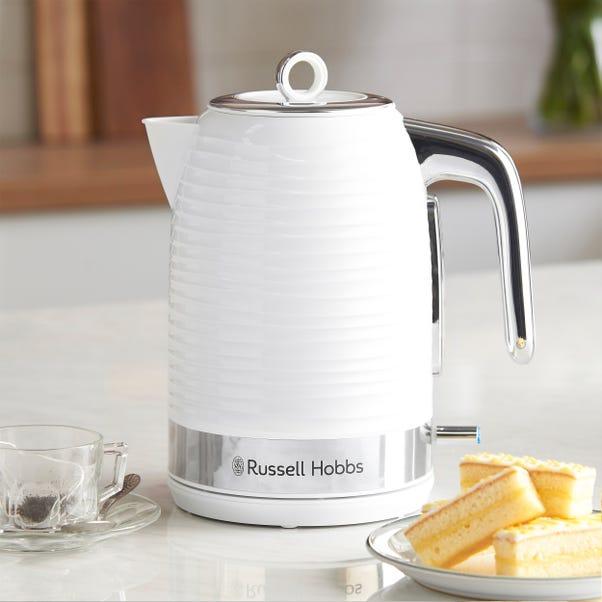 Russell Hobbs Inspire 1.7L 3kW White Kettle White