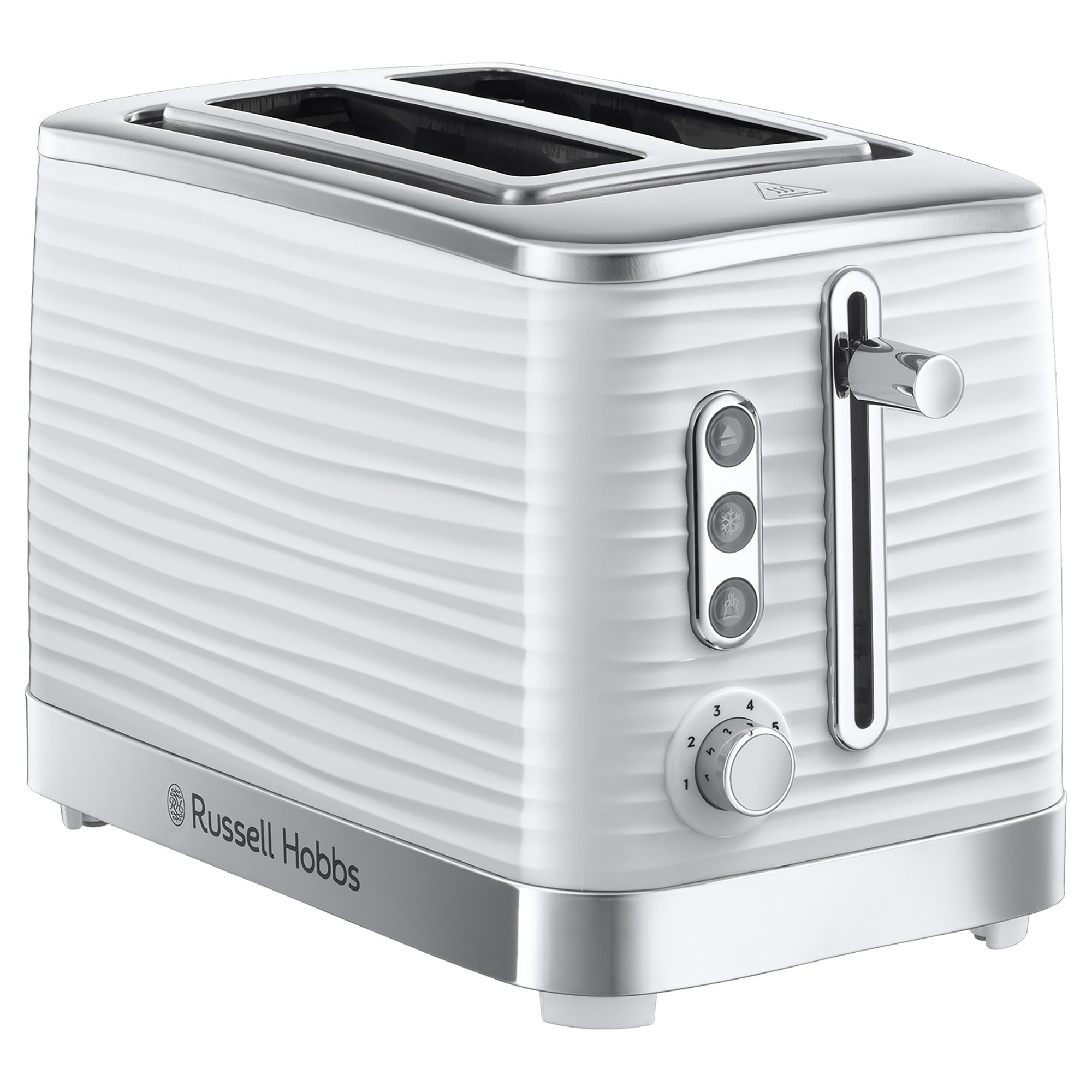 Click to view product details and reviews for Russell Hobbs Inspire White 2 Slice Toaster White.