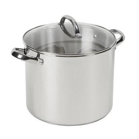 Dunelm Essentials 11 Litre Stainless Steel Stock Pot