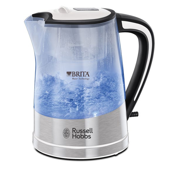 Russell Hobbs Purity Brita Filter 1L 3kW Kettle Silver