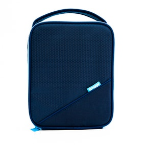 Smash Insulated Navy Blue Lunch Bag