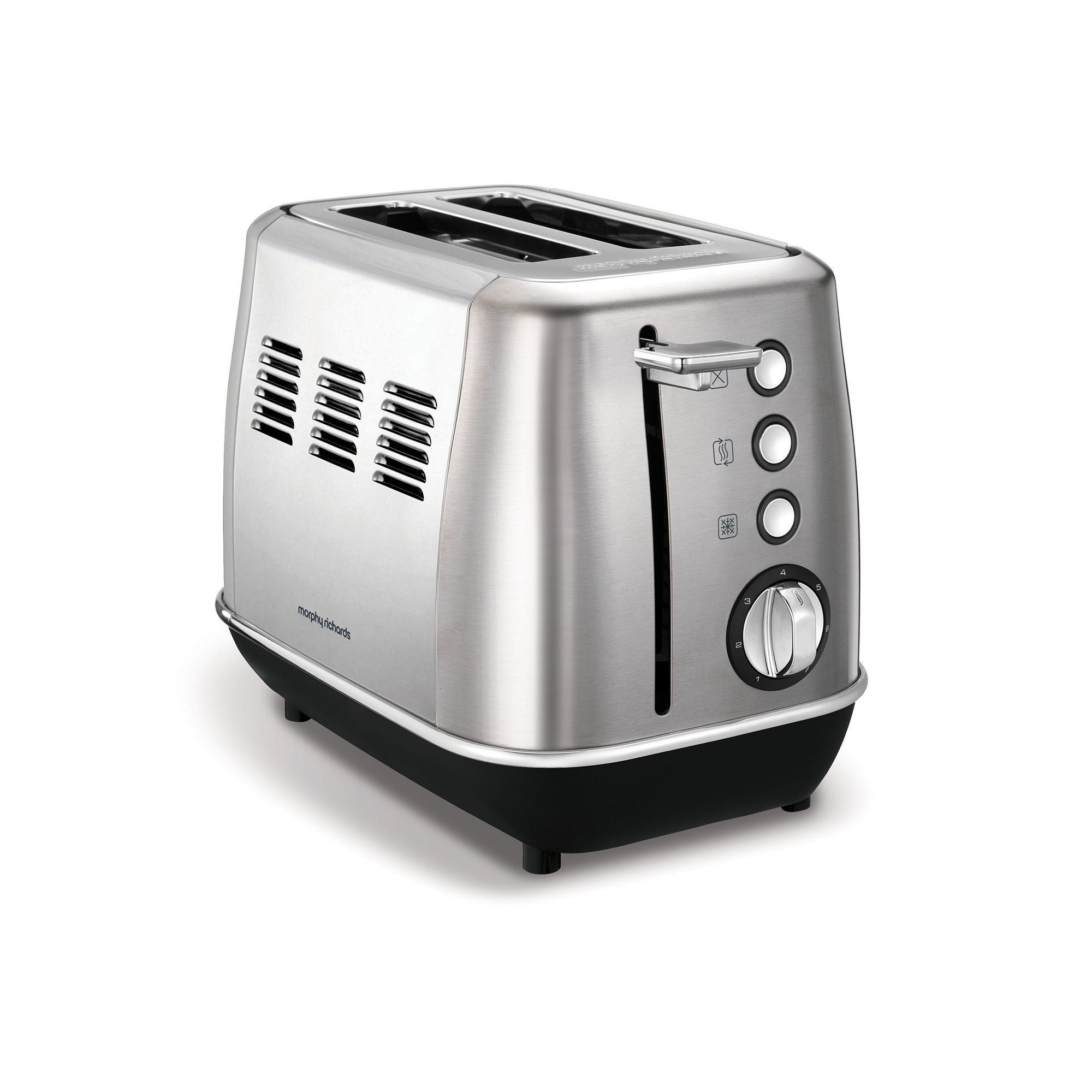 Morphy Richards Evoke Stainless Steel 2 Slice Toaster Silver