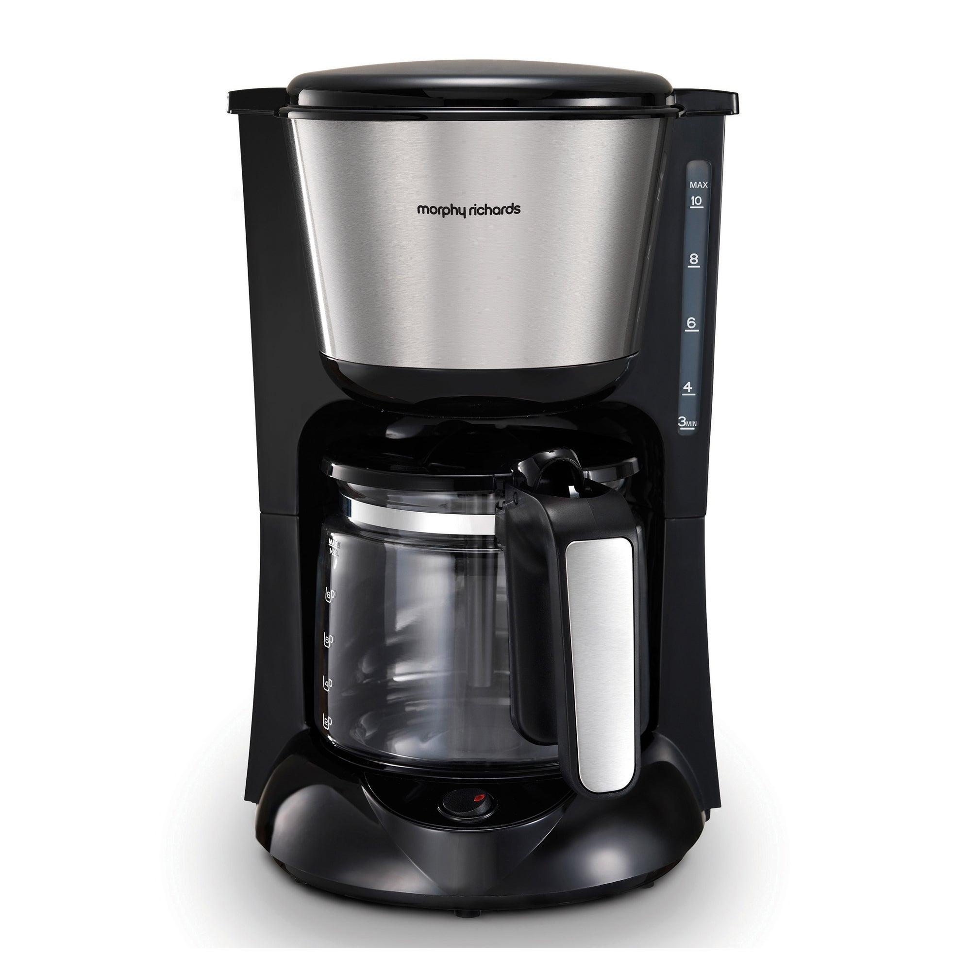 Morphy Richards Equip Filter Coffee Machine Black