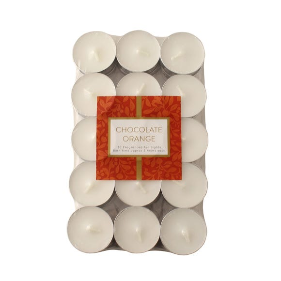 Figgy Pudding 30 Tealights Off-White