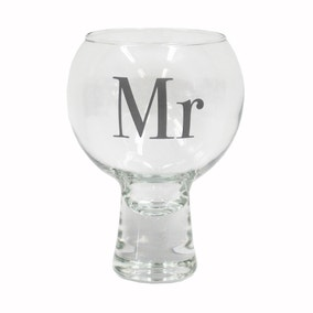 Mr Gin Glass