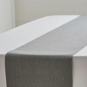 Sparkle Charcoal Table Runner