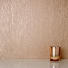 Lustre Rose Gold Foil Texture Wallpaper