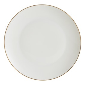 Gold Band Dinner Plate