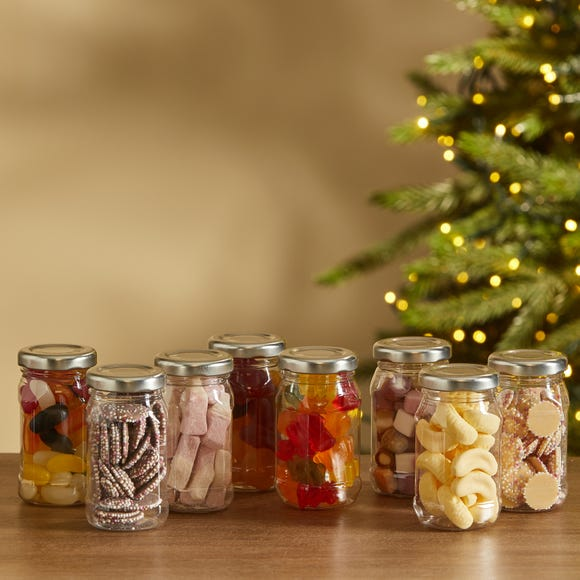 Pack of 8 Sweet Shop Collection MultiColoured