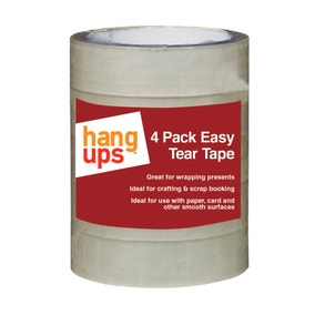 Pack of 4 Easy Tear Tape