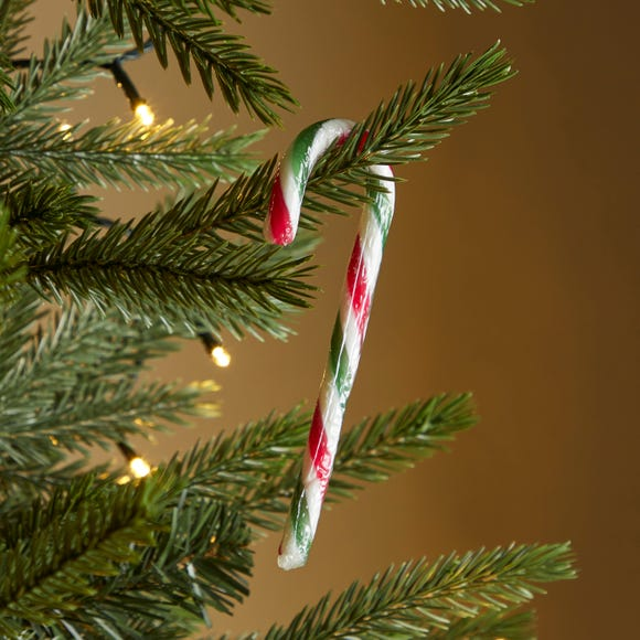 Pack of 12 Candy Canes MultiColoured
