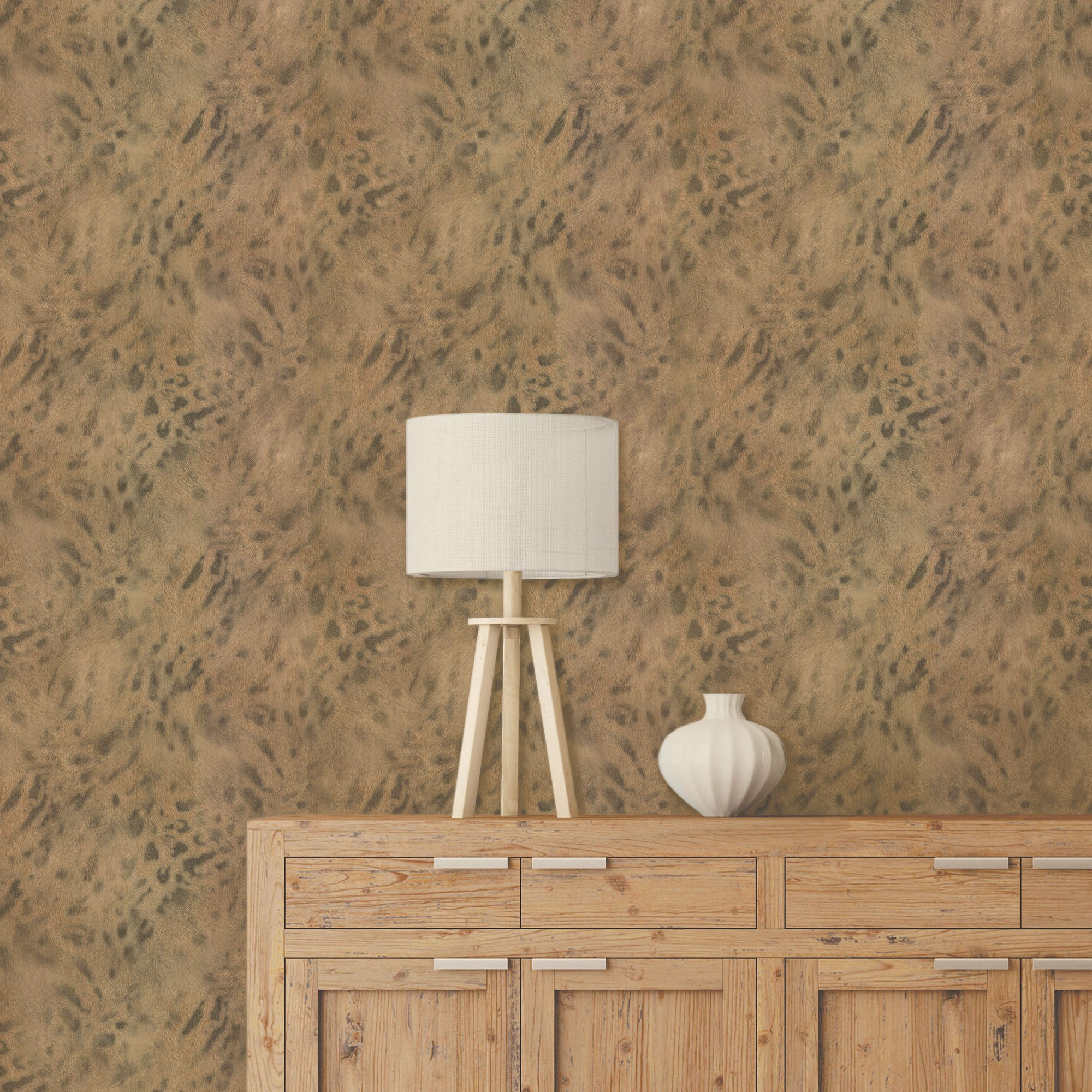Click to view product details and reviews for Textured Natural Leopard Wallpaper Natural.