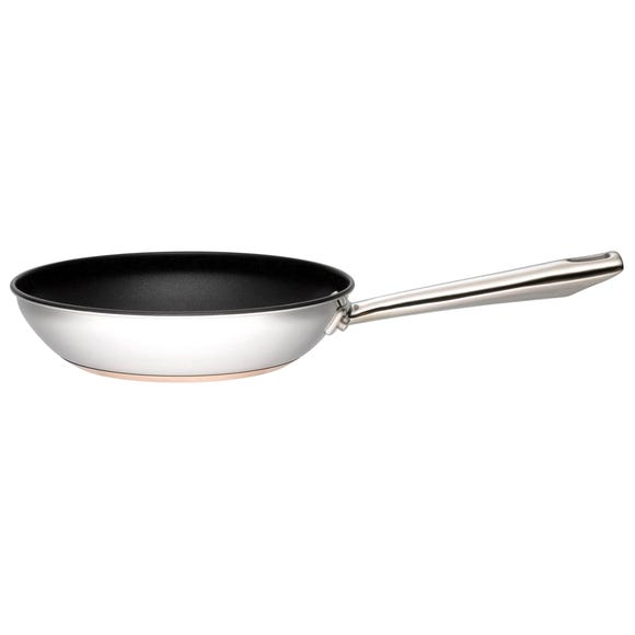 Infinity Copper Base 24cm Frying Pan Silver