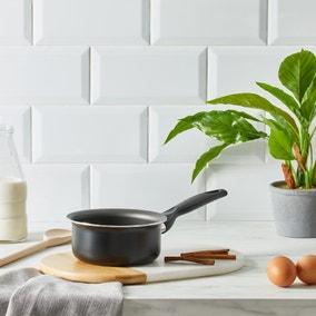 Dunelm Essentials Aluminium 14cm Milk Pan
