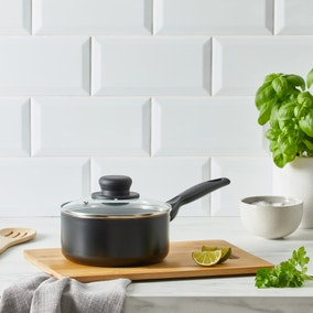 Dunelm Essentials Aluminium 16cm Saucepan