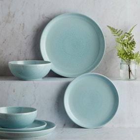 Denby Intro Pale Blue 12 Piece Dinner Set