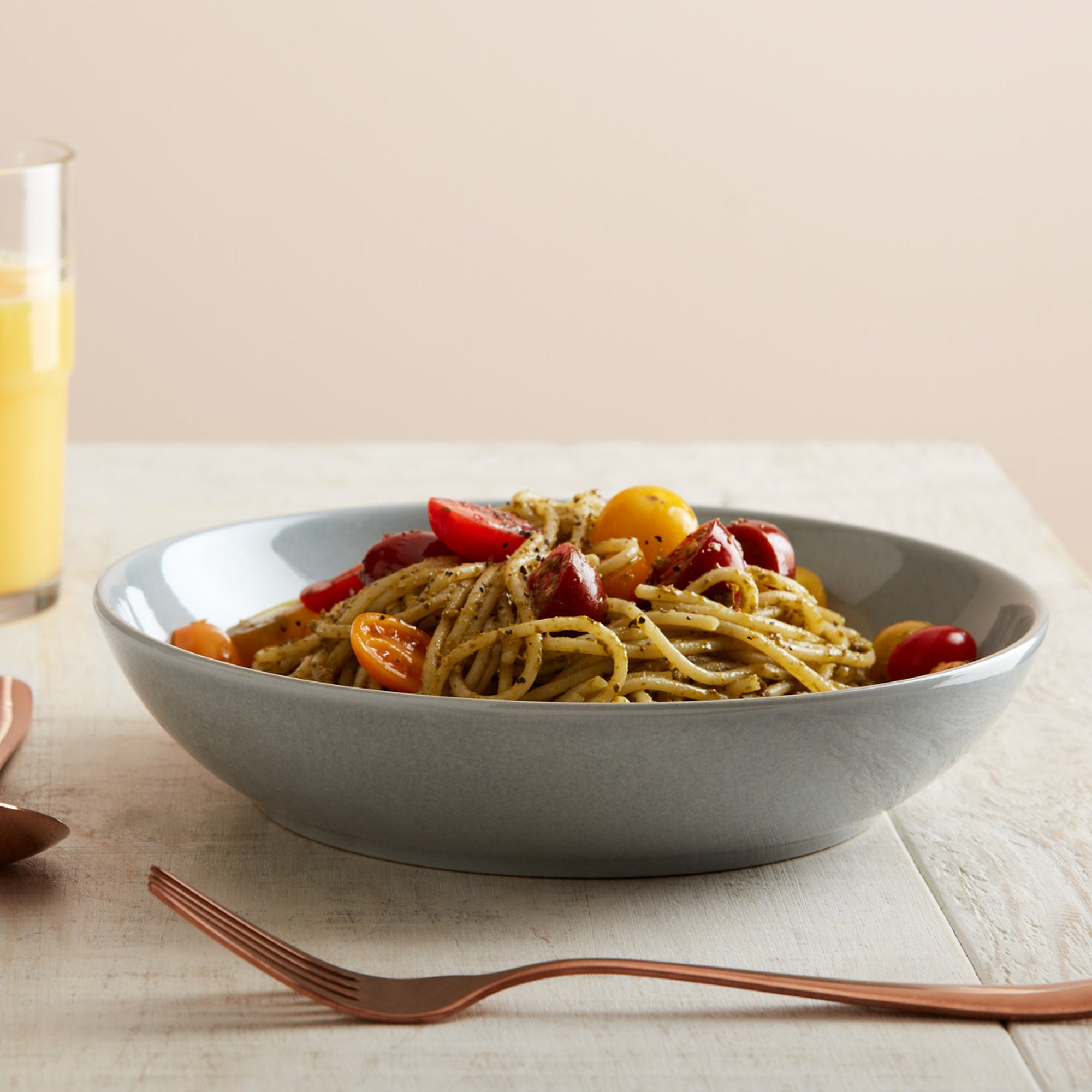 Click to view product details and reviews for Set Of Four Denby Intro Soft Grey Pasta Bowls Grey.