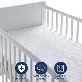 Fogarty Little Sleepers Forever Fresh Antibacterial Mattress Protector