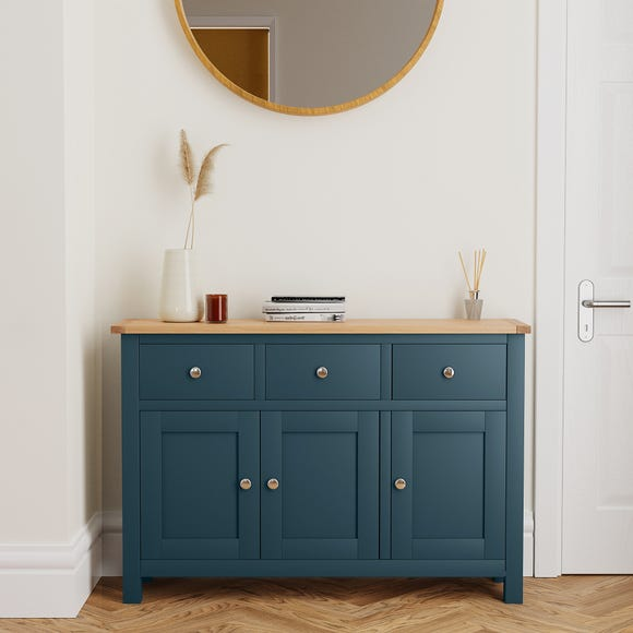 Bromley Blue Large Sideboard