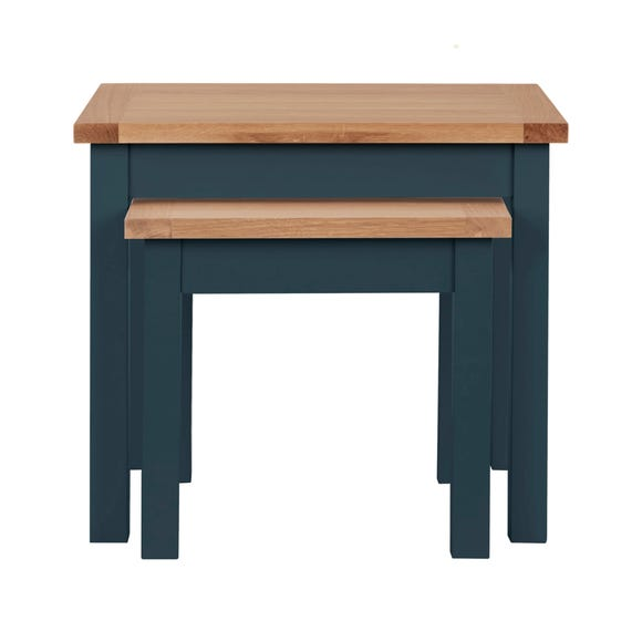 Bromley Blue Nest of Tables