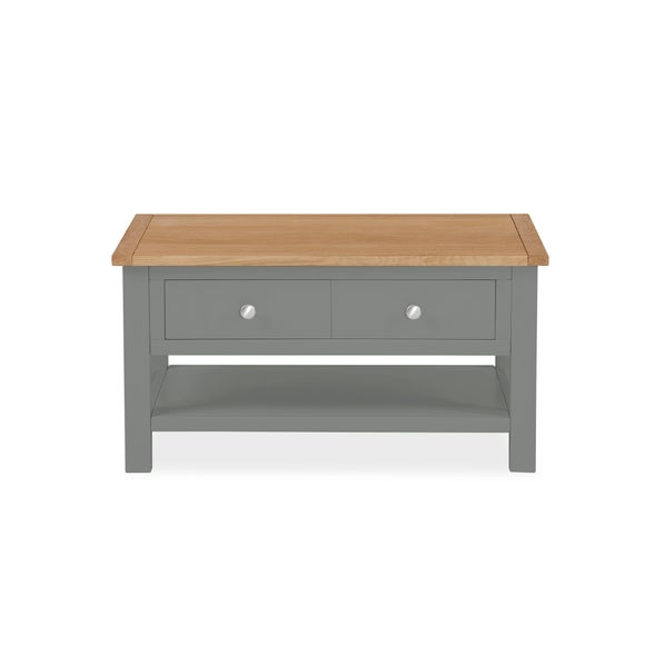 Bromley Grey Coffee Table Dunelm | in