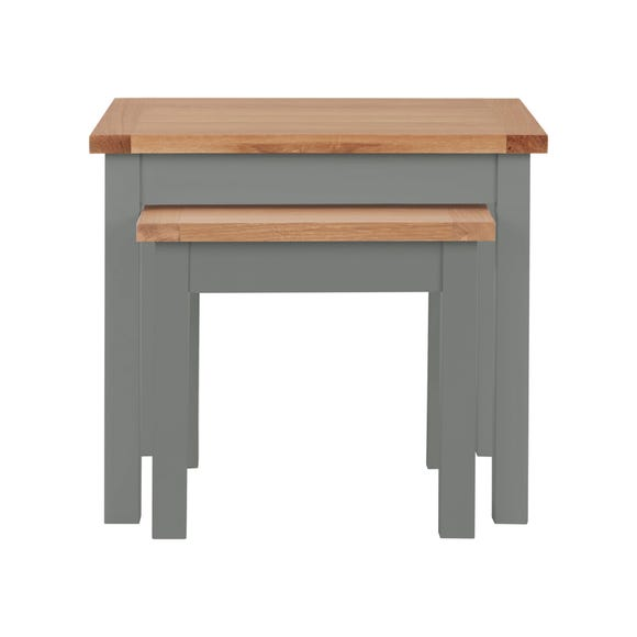 Bromley Slate Nest of Tables Slate (Grey)