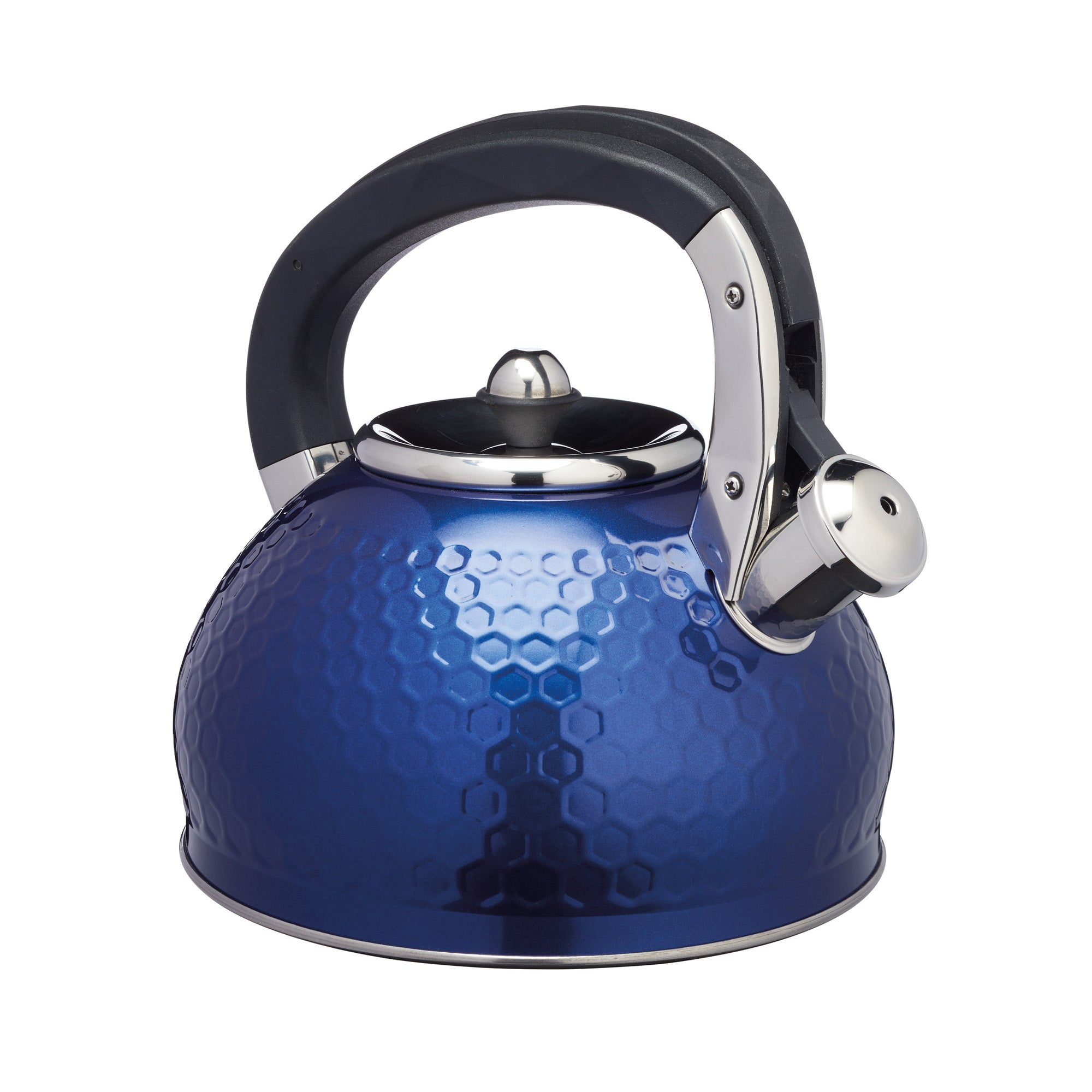 Click to view product details and reviews for Lovello Textured Navy Stove Top Kettle Navy.