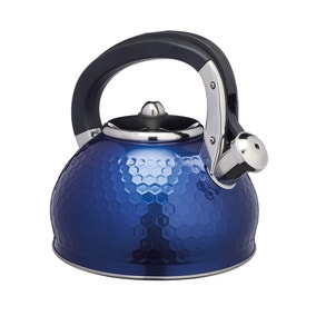 Lovello Textured Navy Stove Top Kettle