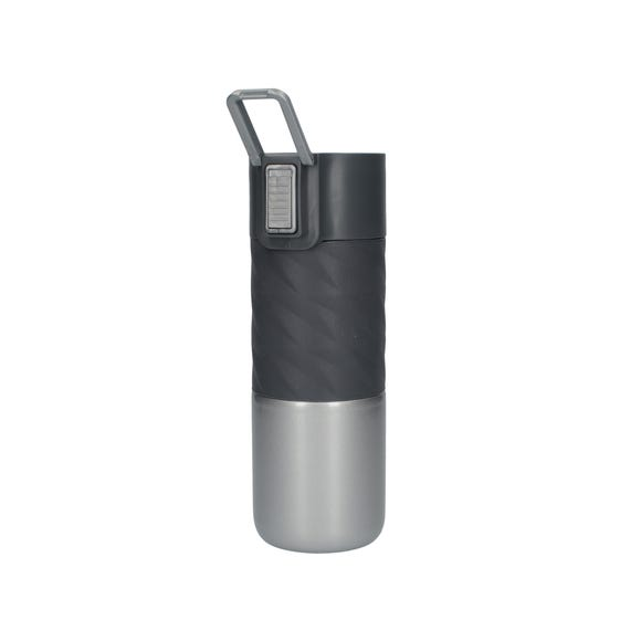 Built 400ml Double Walled Insulated Stainless Steel Travel Flask Black