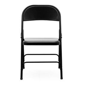 Rory Folding Chair - Black