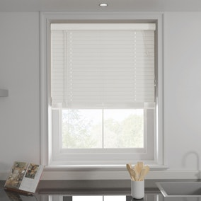 White 50mm Slats Venetian Blind