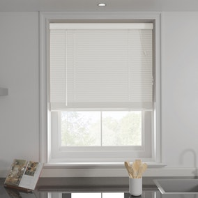 White 25mm Slats Venetian Blind