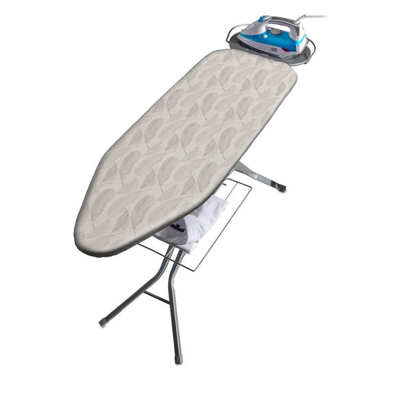 Addis Traditional Feathers Ironing Board Grey