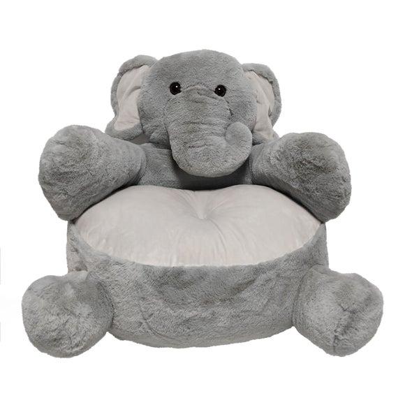 Elephant Sitting Plush