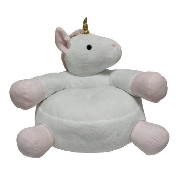 Unicorn Sitting Plush Pink