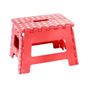 Small Red Step Stool
