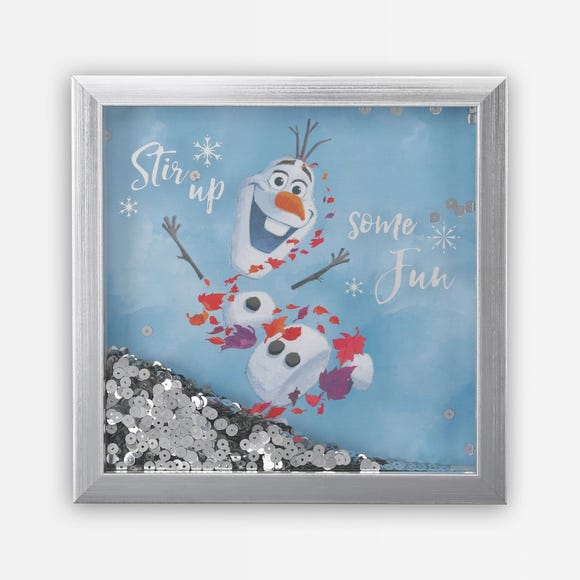 Frozen 2 Olaf Shaker Frame MultiColoured