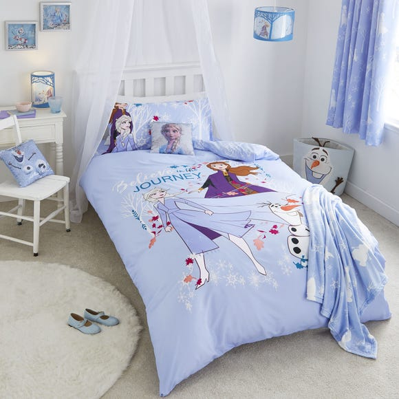 Frozen 2 Cot Bed Duvet Cover and Pillowcase Set  undefined