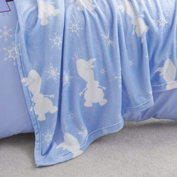 Frozen 2 Fleece Blanket Blue