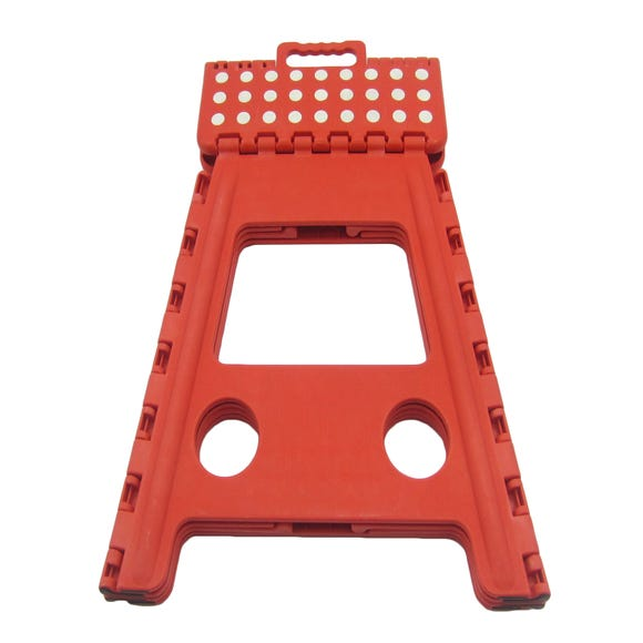 Large Red Step Stool Red