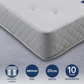 Fogarty Medium Memory Coil Mattress