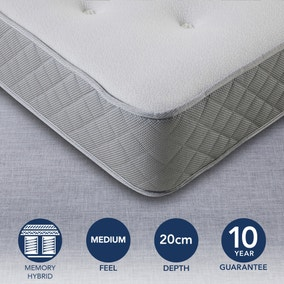Fogarty Medium Memory Coil Plus Mattress