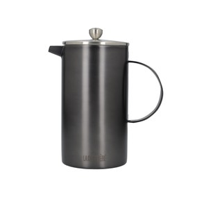 La Cafetiere 8 Cup Brushed Metal Cafetiere